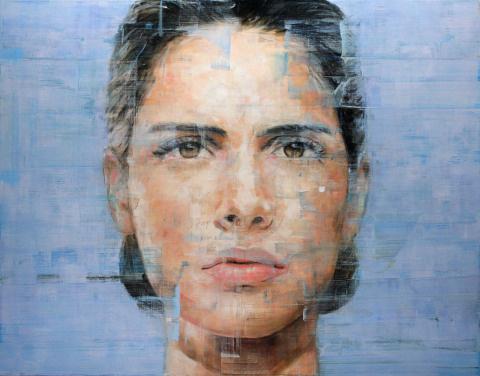 Harding Meyer   PICDIT #painting #portrait #art