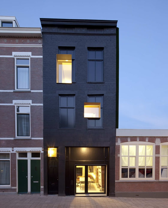 Black Pearl House and Workshop, Rotterdam #pearl #black
