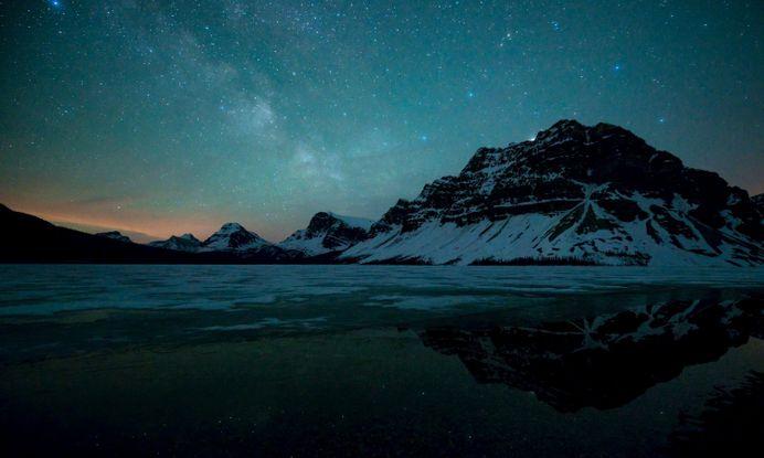 Mountain Stars – WallpapersBae