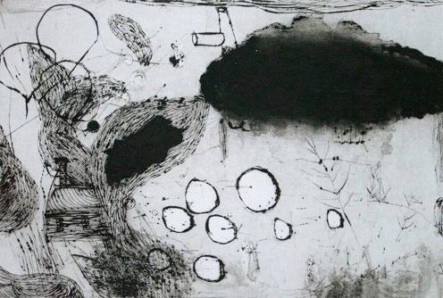 gravures 2007 - 2008 #drawing #etching
