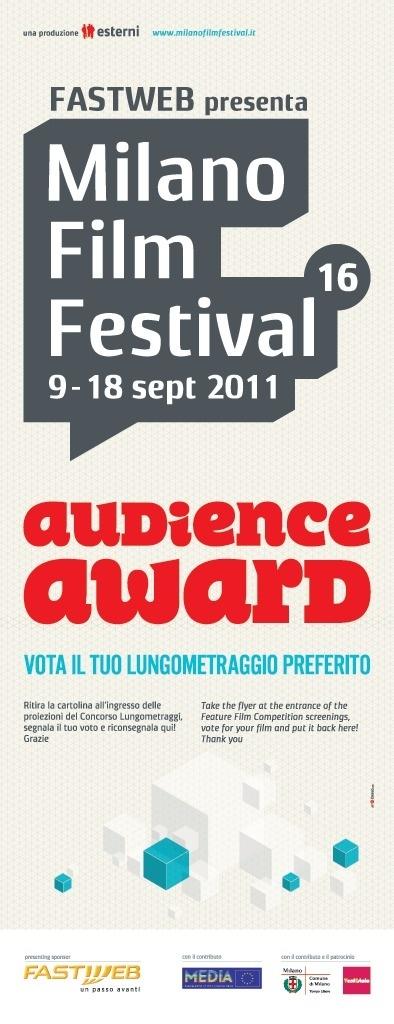 Milano Film Festival #festival #design #milano #poster #film