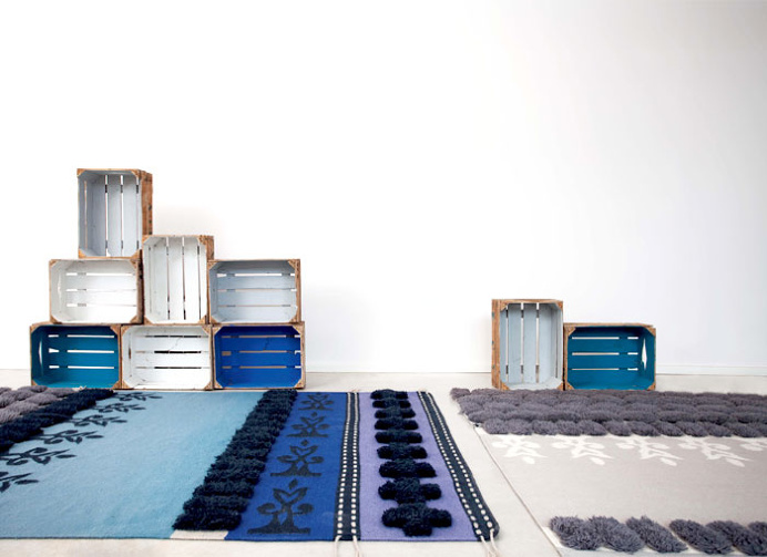 Handmade Poufs, Cushions and Carpets by Gandia Blasco - #textile, #design, #fabrics, #patterns #flooring, #rugs, #carpets