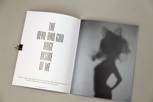 Craig Scott - Graphic Design & Art direction #design #fashion #type #layout #typography