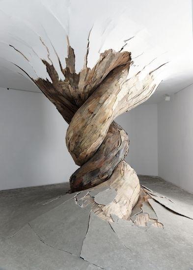 Installation Art by Henrique Oliveira #art #installation
