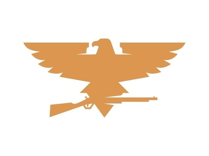 #Logo #Eagle #Rifle #Mark #Vector