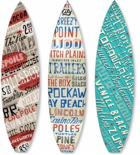 Brian Rea #boards #billabong #surf #typography