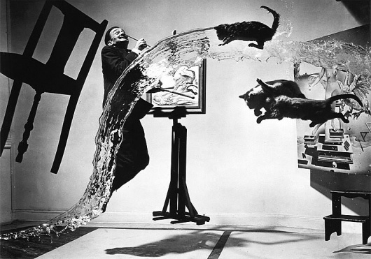 The man that cannot visualize a horse galloping on a tomato is an... - but does it float #dali