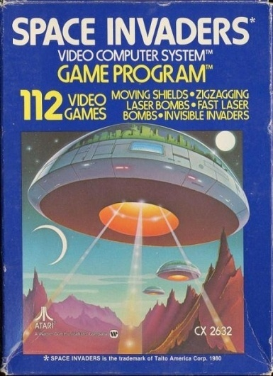 10_Space_invaders.jpg (JPEG Image, 450x619 pixels) #alien #ufo #retro #atari