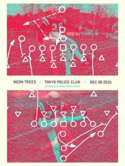 GigPosters.com - Tokyo Police Club - Neon Trees #poster