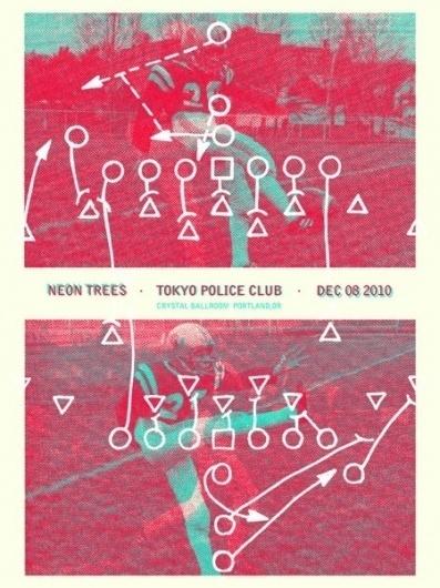 GigPosters.com - Tokyo Police Club - Neon Trees
