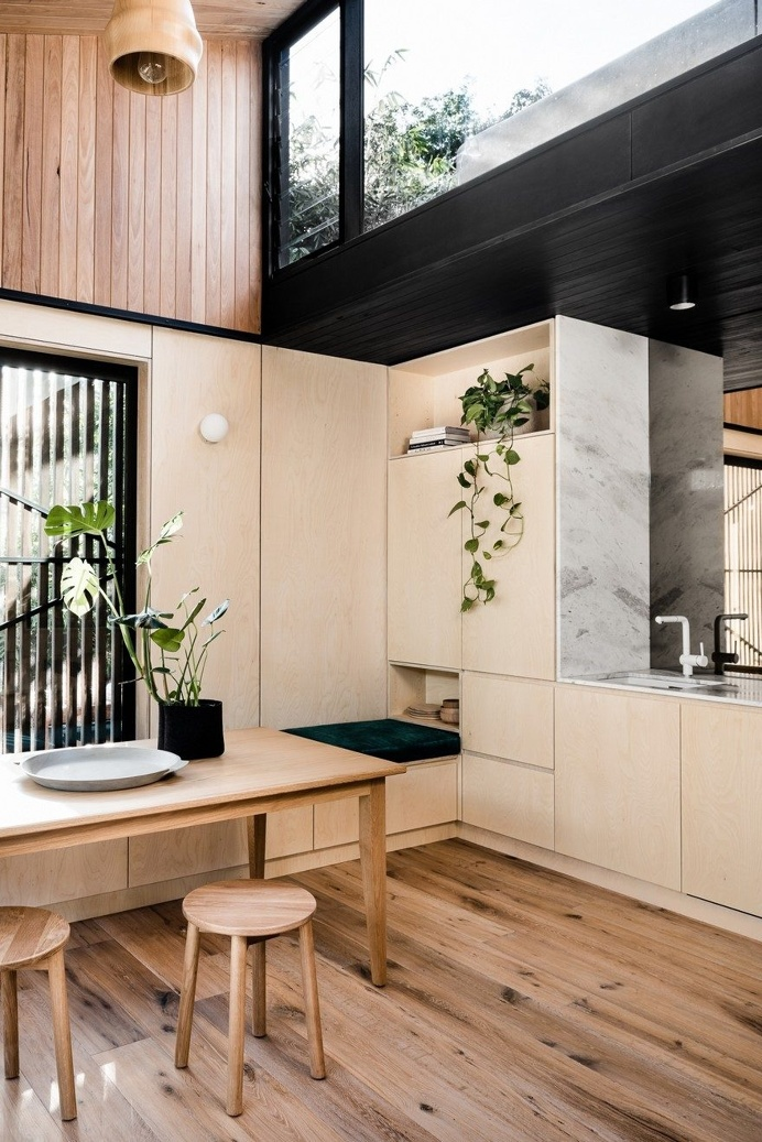 Light Corridor House is an Extension to a Typical Victorian Workers' Cottage 6