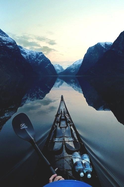 Lifestyle of the Unemployed #nature #mountain #water #kayak