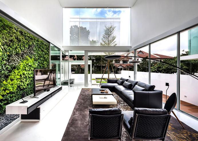 Greja Glass House by Park + Associates - interior design, interior, decor, home decor, home design, #interiordesign