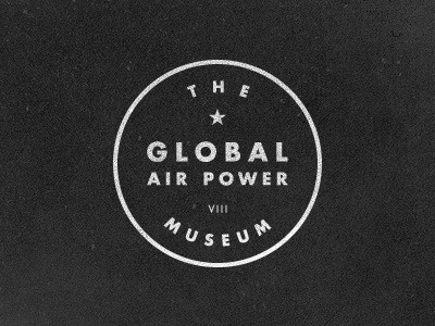 Dribbble - Air Power Museum by Jake Dugard #logo