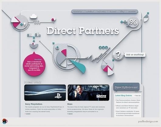 Paul Lee Design #design #web