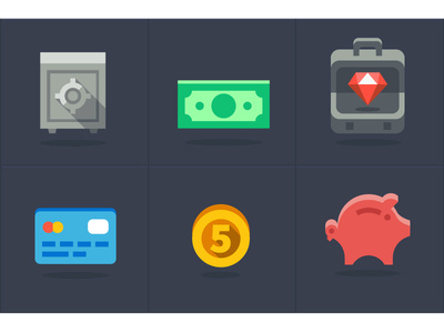 Oink oink icon,s #computer #safe #pig #diamonds #wealth #bank #purse #coin #money #luxury
