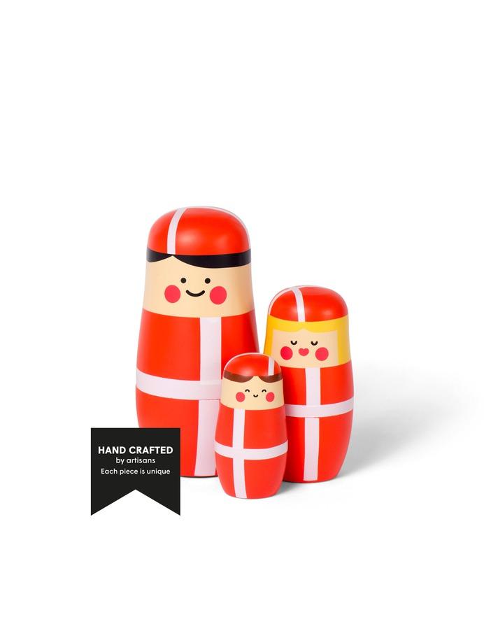 EXPRESSIONS - Celebration edition - Nesting dolls designed by Benjamin Hansen