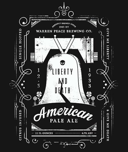 Warren Peace American Pale Ale #beer #poster
