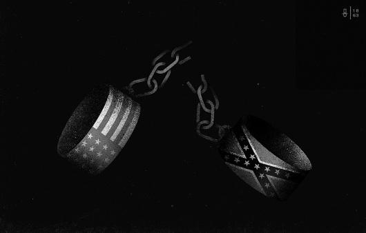 MOMENTUS #america #illustration #momentus #chains