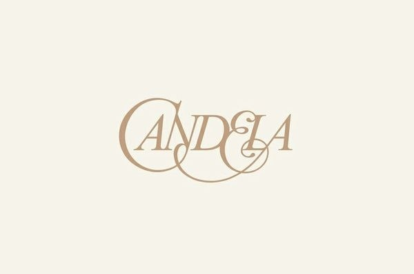 Logotype designed by RoAndCo for footwear and fashion brand Candela http://bpando.org/2013/12/17/logo-candela/ #lettering #roandco #ligatures #logo #typography