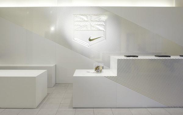 Nike London 2012 Retailer Hospitality on Behance #interiors #wayfinding