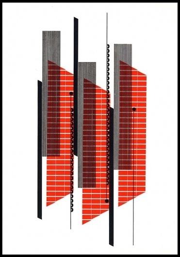 Alvin Lustig Graphic Design – Graphic Design, Illustration, Typography inspiration on MONOmoda #grid #design #graphic