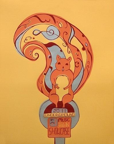 Ink Lounge Creative { art prints } #ink #alden #nicky #denver #screenprint #colorado #gigposter #poster #lounge