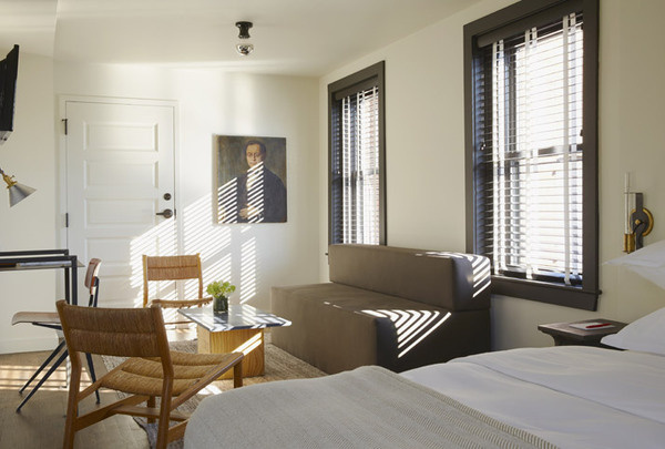 Sleeping With The Dean: A New Boutique Hotel In Providence, Rhode Island by ASH NYC   Yatzer #interior #hotel #ash #nyc