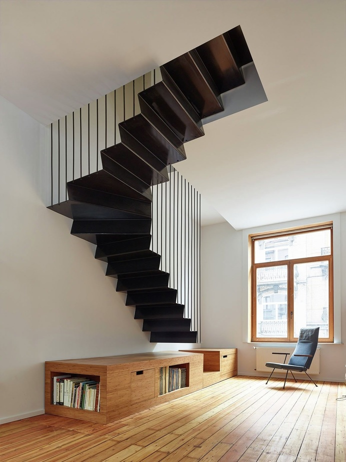BRNK by François Martens Architecte and Edouard Brunet Architecte. #francoismartensarchitecte #edouardbrunetarchitecte #staircase