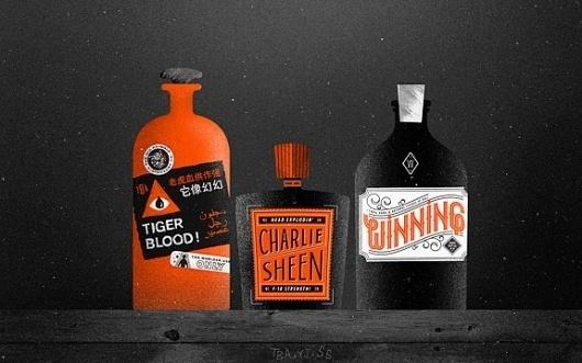 The Fox Is Black » The Desktop Wallpaper Project featuring Charlie Sheen #desktop #charlie #tigerblood #sheen #wallpaper