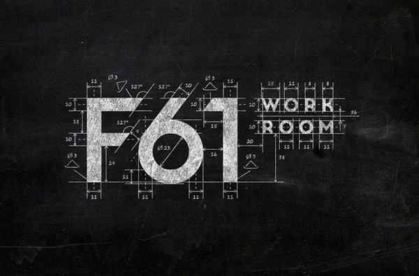 F61 Work Room logo design by F61