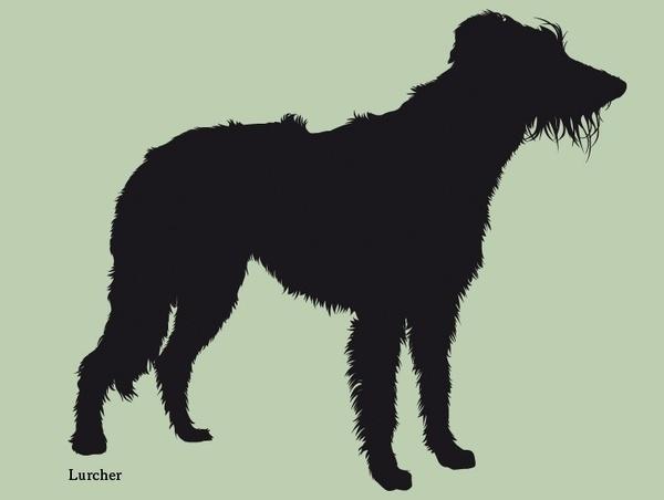Dog silhouettes (set 5) #fellerer #together #illustration #forever #marge #friends