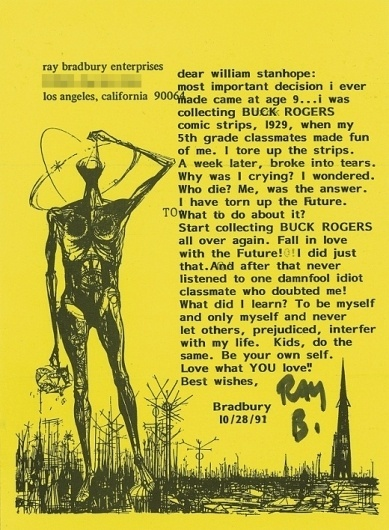 lovewhatyoulove.jpg 520×708 pixels #what #you #fi #bradbury #sci #ray #love