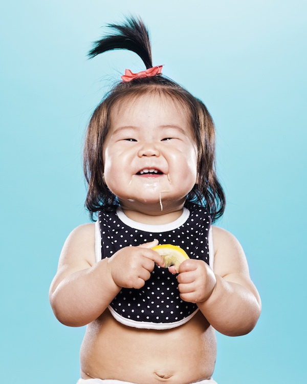Adorable Series of Babies Sucking on Lemons for the Very First Time My Modern Metropolis #photo #lemon #baby