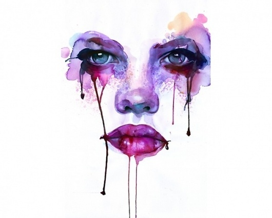 Marion Bolognesi Illustrations – Illustration inspiration on MONOmoda #illustration #colorful #watercolor #girl
