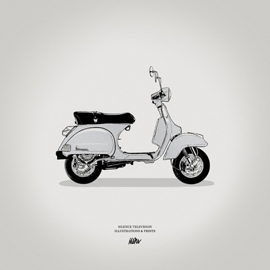 Silence Television - Blog #moped #scooter