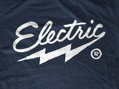 Dribbble - Picture 6 by Curtis Jinkins #lightning #logo #lettering #script