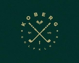 golf club by YhankTou #mark #crossed #design #identity #logo