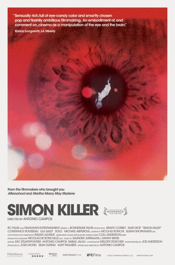 Simon Killer #movie #poster