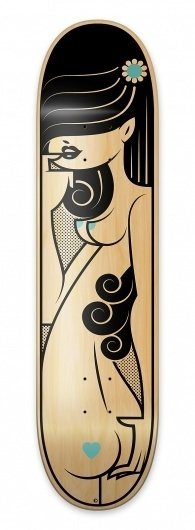 Bordo Bello 2011 on the Behance Network #sexy #vector #illlustration #colorado #kronk #skateboard #bordobello #aiga