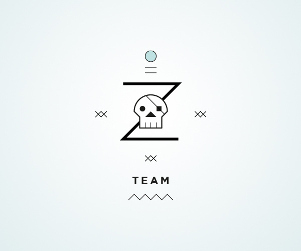 Z team / Logos on Behance / http://bit.ly/SrZQ0R #team #cuba #logo #diving #type