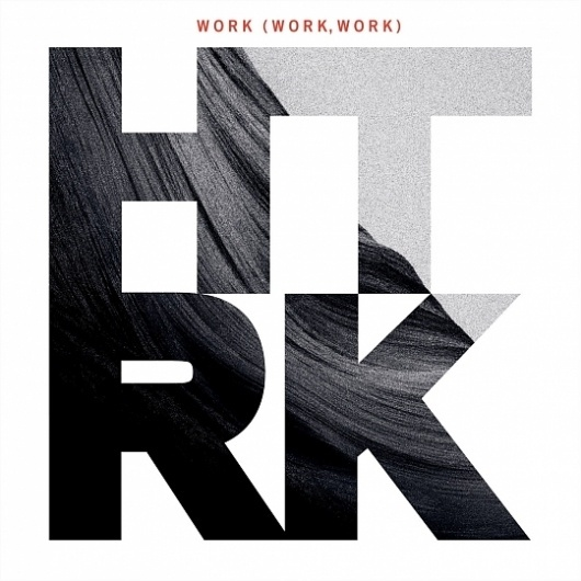 HTRK presents Work (work, work) - Ghostly International #cover #vinyl #photography #music #typography