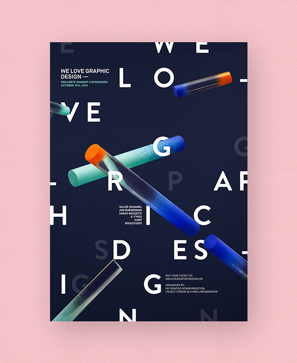 We Love Graphic Design on Behance #graphic #poster #typography