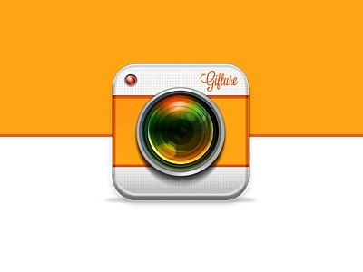 Dribbble - Gifture iOS Icon - Rebound by Stan Gursky #instagram #icon #ios #camera #logo