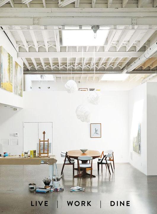 dining room work space #interior #design #decor #deco #decoration
