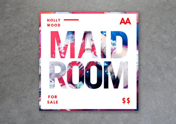 MAIDROOM Studio L'Étiquette #graphic design