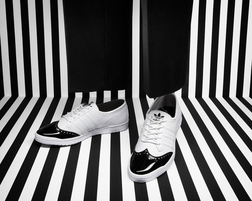 adi originals adidas Originals Fall/Winter 2012 Brogue Pack #adidas #monochrome #ad #fashion #editorial