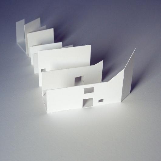 All sizes | onin bidea_maketaren hastapenak | Flickr - Photo Sharing! #model #papel #design #craft #cartulina #architecture #arquitectura #basic #paper #maqueta