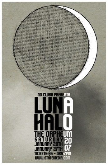125 Concert Posters #halo #poster #luna