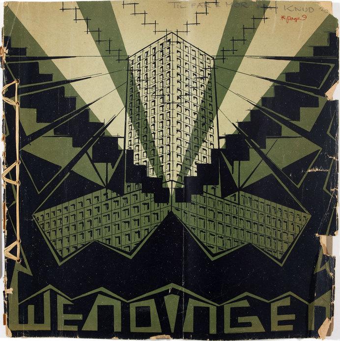 "Wendingen ""Skyscraper as a solution of the Housing Problem"" No. 3, 1923 #print"